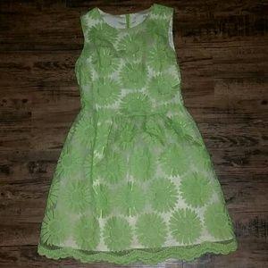 Ellison Chartreuse Green Dress XS S